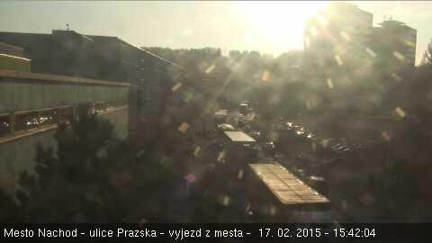 Ulice Pražská - Náchod