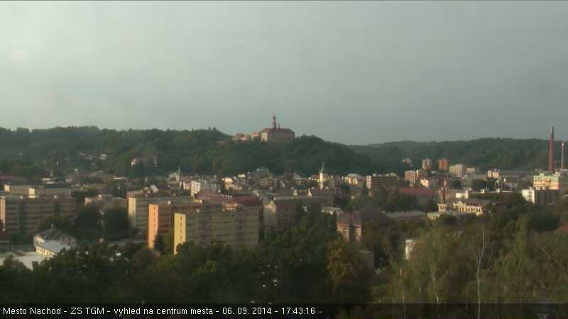 Webkamera-pohled na město